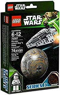 LEGO (Star Wars Republic Assault Ship? and Coruscant? 75007