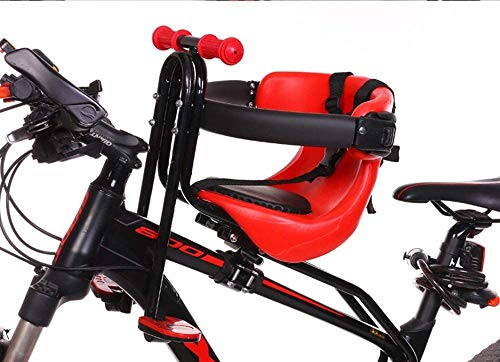 Great Deal! Front Mount Child Bike Seat,Adjustable Height Child Bike Seat,Bike Seat for Kids On Adul...