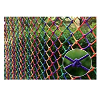 多目的な用途のセーフティネット ご家庭での階段/手すりの安全対策ネット 落下防止用の安全ネット チャイルドセーフネット、階段セーフティネット屋内バルコニー飛散防止ネットセーフレールネット用子供/ペット/おもちゃキッズ保護ネット収納メッシュオーガナイザーロープ厚さ8mm /メッシュ8cmマルチサイズ 園芸用ネット、防鳥網 木、庭、屋根、農場、田畑、池、窓部、屋内など怪我防止 危険防止 簡単設置