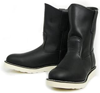 [レッドウィング] 8169 9インチ PECOS BOOTS ペコスブーツ ブラック-5.5D-約23.5cm