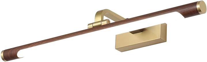 Spiegellamp, modern en eenvoudig voor badkamer retro wastafellamp toiletspiegellamp badkamerspiegelkast (grootte: 76cm)