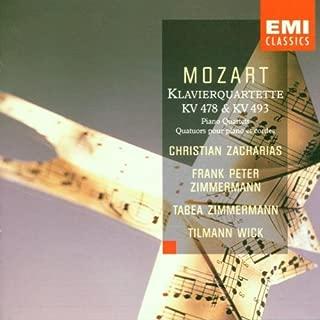 Mozart: Klavierquartette Piano Quartets KV 478 & 493
