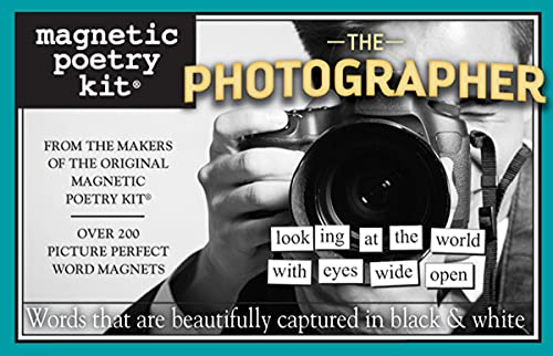 Magnetic Poetry - The Photographer Kit - Words for Refrigerator - Write Poems and...