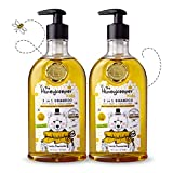 The Honeykeeper Kids Little Chamomile 3 in 1Shampoo, Body Wash and Conditioner (14 Ounces), 2-Pack