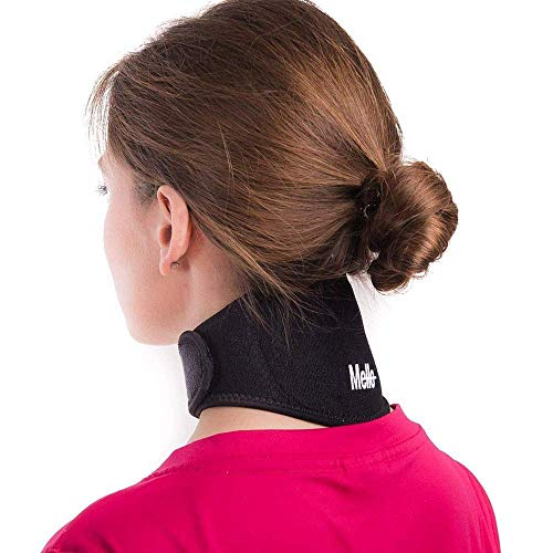 Neck Pain Relief - Health Magnet Physical Therapy for Migraines Headache - Chronic Neck Stiffness Brace-Soft Cervical Support Collar - Comfortable Air, Car Travel