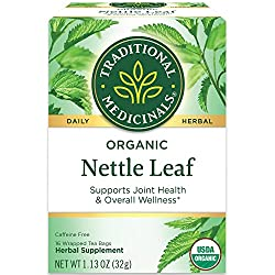 nettle leaf tea to block dht and regrow thicker hair