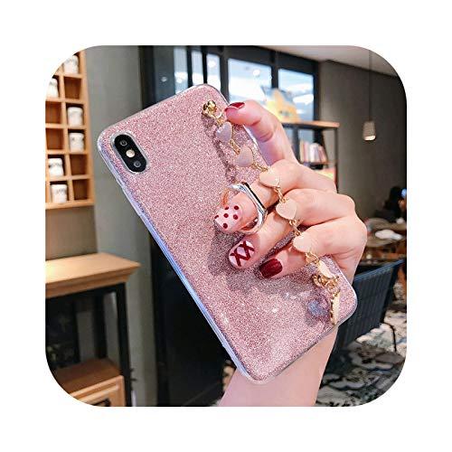 Funda de silicona para Samsung Galaxy S20 Ultra S10 S9 S8 Note 9 10 Plus A51 A71 A10 A30 A50 A70 Cover Rosa S9