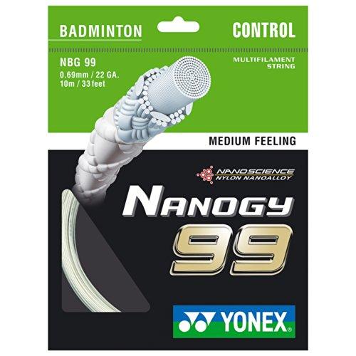 Yonex Badmintonsaite Nanogy 99 NBG99, 0,69 mm, 10 m