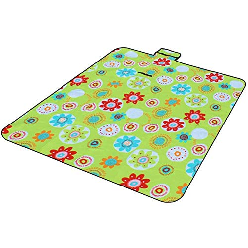 DXQDXQ Sandproof Picnic Blanket Beach Mat Large 150 * 200cm Camping Mat and Rug for Outdoors Beach Park Yard with Waterproof Backing Foldable Mat (Color : 2)
