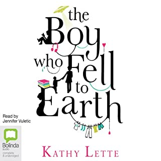 The Boy Who Fell to Earth cover art