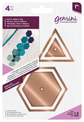 Crafter's Companion GEM-MD-MM-EPP2 Gemini Media Sterben-Englisch Papier Piecing 1