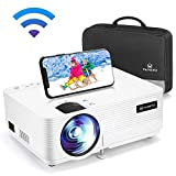 VANKYO LEISURE 470 Wireless Projector, Mini WIFI Portable Video Projector, 1080P Supported, 4000