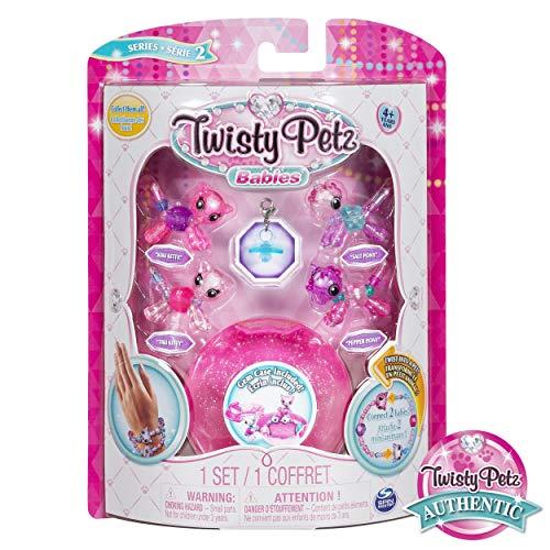 Twisty Petz 6044224 - Twisty Babys 4er Set, sortiert