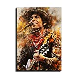 Bob Dylan 8 Aquarell Kunst Dekorative Malerei Poster Kunst