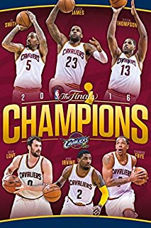 Trends International 2016 NBA Finals Champions Cleveland Cavaliers Collector's Edition Wall Poster 24