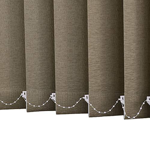 Persiana de Aluminio Persiana Vertical de Ventana, Cortinas de Privacidad de Fácil Ajuste, Accesorios Recortables, Cortinas de Filtrado de Luz para Oficina en Casa, Protección de Privacidad