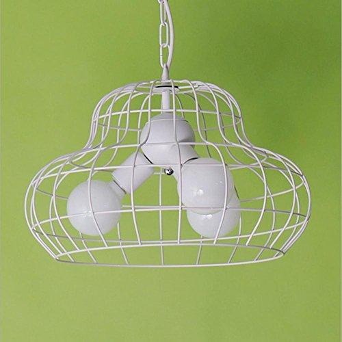 YMXJB Lampe à suspension salon Creative industrie Loft pendentif lumineux LED lustres pastorale Cafe barre de fer, 220v