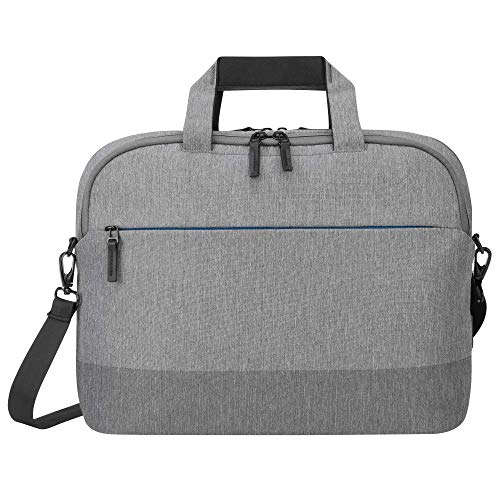 Targus CityLite Pro Modern Slim Laptop Travel Briefcase with Protective Sleeve for 12-Inch to 15.6-Inch Laptop, Grey (TBT919GL)