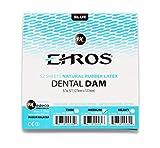 Rubber Dental Dam 5'x 5' Medium Blue Latex 52 Sheets Natural EHROS
