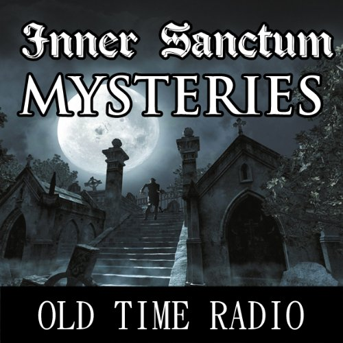 Inner Sanctum Mysteries audiobook cover art