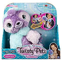 TRANSFORMING WEARABLE PLUSH: Untwist and wear Turn your plush animal into a super soft, fashionable boa with a simple pull of the head and tail. With two twists, easily turn your boa back into cuddly pet 4 ANIMALS TO COLLECT: There are 4 adorable Twi...
