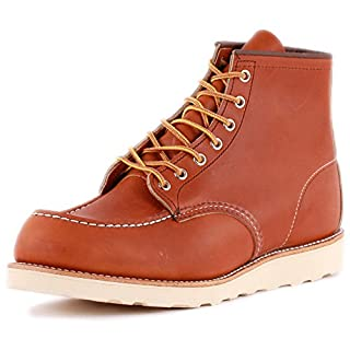 "Red Wing 875: Mens 6"" Moc Toe Oro-Iginal Legacy Boots (9 D(M) US Men) (B01448U6AW) 