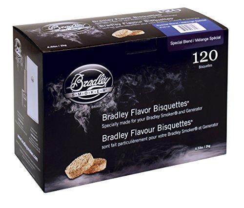 Bradley Smoker BTSB120 Smoker Chips One Size Tan