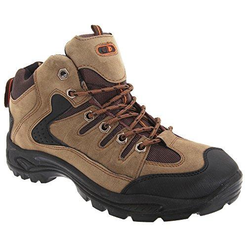 Dek Mens - Scarponcini per Escursionismo con Lacci - Uomo (45 EU) (Deserto)