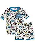 Power Rangers Pijamas de Manga Corta para Niños Ninja Steel Ajuste Ceñido Multicolor 3-4 Años