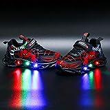 Scarpe da Ginnastica per Bambini, con luci a LED, Stile Casual, Leggere,...