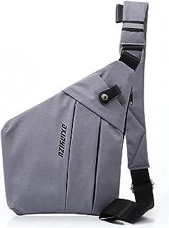Strangefly Chest Sling Bag Side Crossbody Backpack Casual Shoulder Daypack Anti-Theft Pocket Bag for Men Women