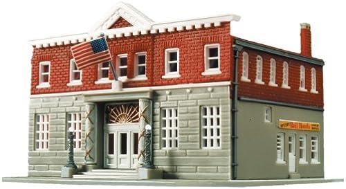Life-Like Trains HO Scale Building Kits - boislawn Police Station