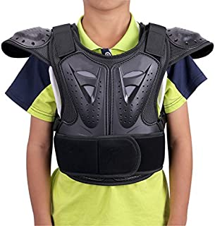 WINGOFFLY Kids Chest Spine Protector Body Armor Vest...