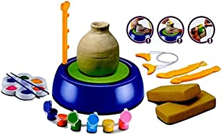 Little Treasures 103 Imaginative Arts Pottery Wheel Lets Children Learn Advanced Sculpture While Playing