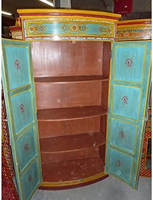 Cubierta de radiador de armario, pintada a mano, diseño ...