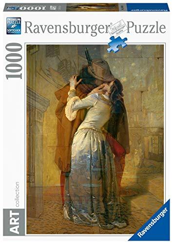 Ravensburger - Art Collezion: Il bacio, Hayez Puzzle, 1000 Pezzi, Colore Multicolore, 15405