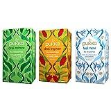 Pukka Bio-Tee Set Bauchgefühl mit den Tee-Sorten Drei Minze, Drei Ingwer und Feel New. Auswahl an...