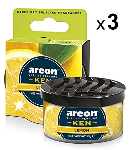 Areon Ken Ambientador Coche Limon Hogar Aire Olor