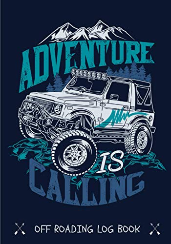 Off Roading Log Book: Off Roads Journal for 4x4 Road Trip| Keep Track and Review All Details About your Trail | Record Destination, Cost, Equipment & ... Km travelled and more on 100 detailed Sheets.
