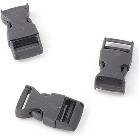 Details about  /Webbing Ending Clip Buckle Fastener Organizer for Molle Bag Backpack Strap Belts