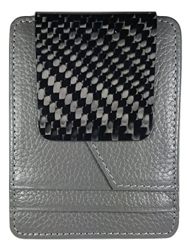 Grey D15 Genuine Carbon Fiber Wallet
