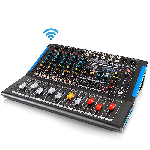 For Sale! 6-Channel Bluetooth Studio Audio Mixer - DJ Sound Controller Interface with USB Drive for ...