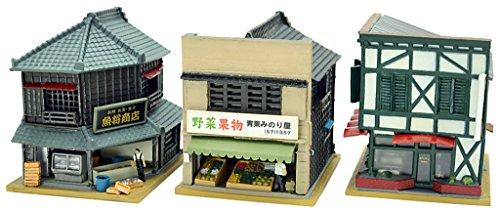 トミーテック ジオコレ 建物コレクション 建コレ 130-2 魚屋・八百屋・純喫茶2 ジオラマ用品