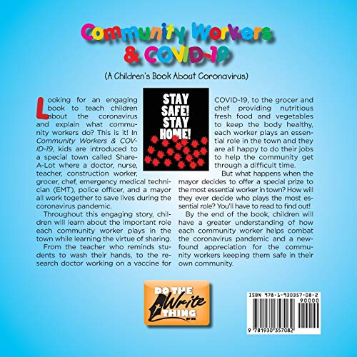 Community Workers & COVID-19: A Children's Book About Coronavirus
