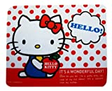 red sweet hello kitty mousemat
