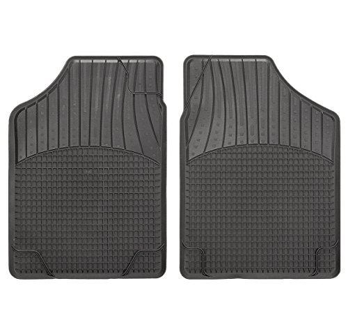 CarFashion Allwetter Schalenmatte B2, Auto Fussmatten Set in schwarz, 2-teilig, ohne Mattenhalter für Peut 206 CC Coupé, Cabrio , Baujahr 01/2001-02/2007