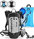 FREEMOVE Hydration Pack Backpack with 2 Liter Water Bladder and Cooler Bag, Lightweight, Fully...
