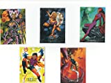 1992 Marvel Masterpieces Lost Cards (LM1-LM5) Tin Exclusive! NM/M