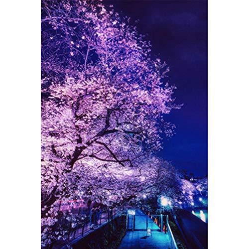 Japanse Classic Landschap Cherry Blossom Puzzels in een doos 500/1000/2000/3000/5000 Stukken van houten puzzels, mooi geschenk,2000PCS