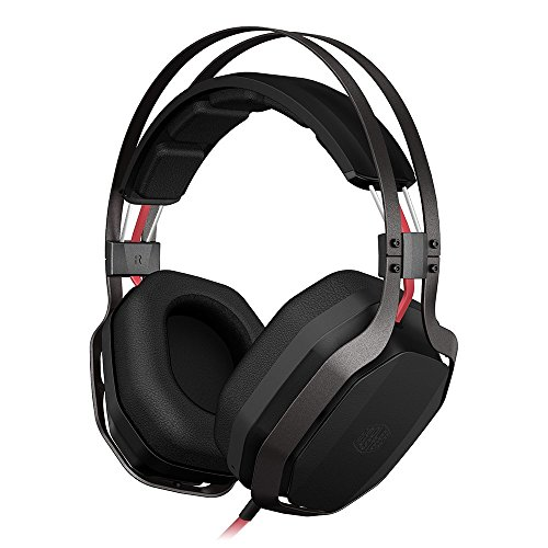 Cooler Master MasterPulse over-ear with Bass FX Cuffie Gaming 'Bass FX Technology, Controllo Microfono e Volume sul filo, Diametro Driver da 44mm' SGH-4700-KKTA1